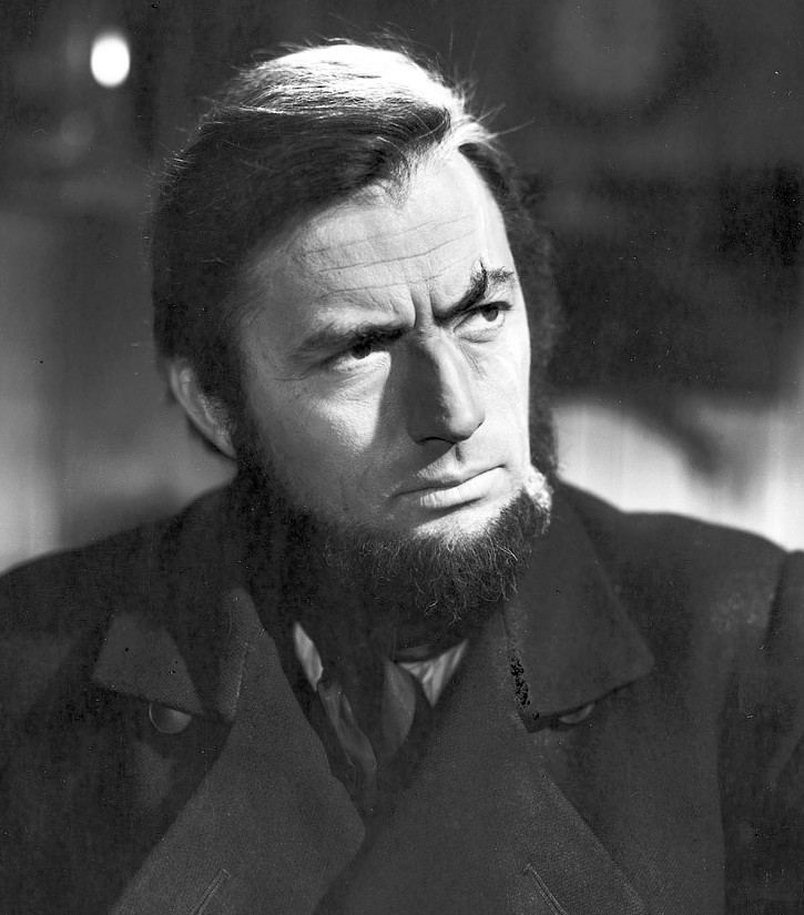 Gregory Peck as Captain Ahab